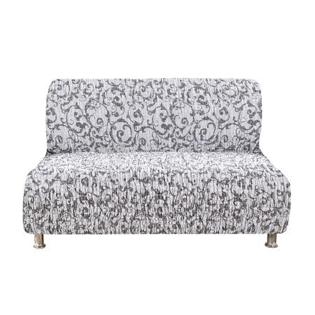 Купить Натяжной чехол на двухместный диван без подлокотников Еврочехол «Сиена Джоя»