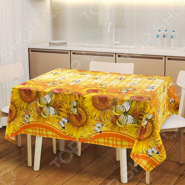Скатерть ТексДизайн «Кубаночка» сервировка стола