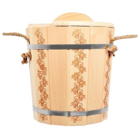 Купить Запарник Банные штучки «Цветочный орнамент» 32695