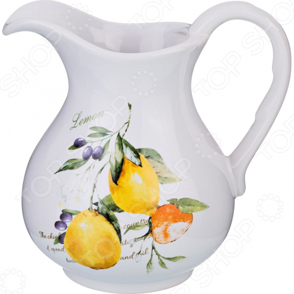 Кувшин Lefard «Итальянские лимоны» 230-166 кувшин lefard 99 имен аллаха 86 2042