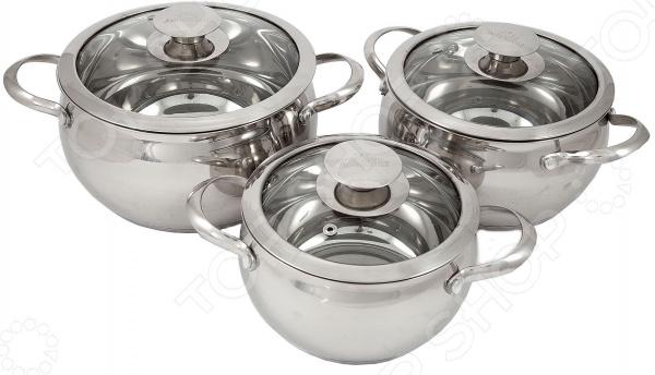 Набор посуды Добрыня DO-1708 набор посуды добрыня do 1701