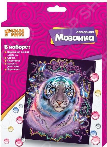 Набор для создания мозаики Color Puppy «Тигр»