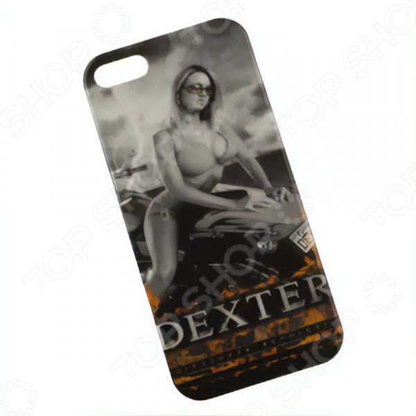 лучшая цена Чехол для телефона для iPhone 5/5s/SE «Девчонка. Мото. Dexter»