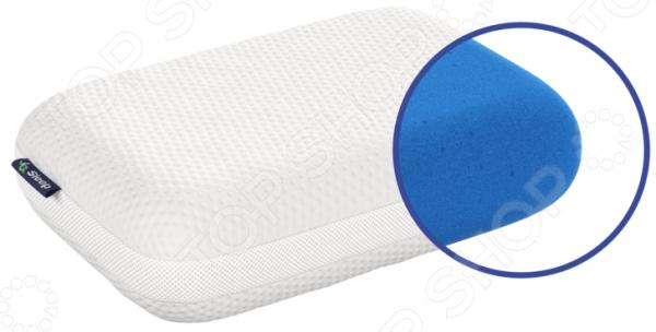Подушка анатомическая IQ Sleep IQ Comfort подушка ортопедическая iq vita l