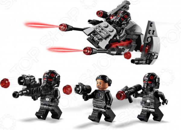 Конструктор игровой LEGO 75226 Star Wars «Боевой набор отряда Инферно»