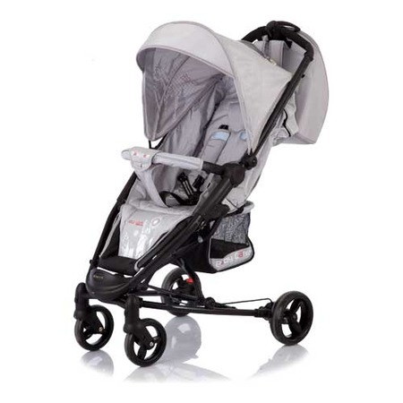 Купить Коляска прогулочная Baby Care New York Silver
