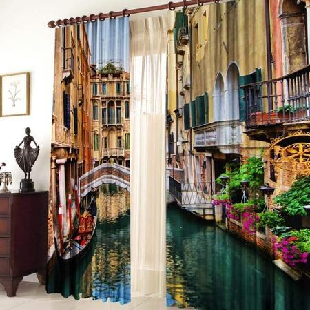 Купить Фотошторы ТамиТекс «Венеция»
