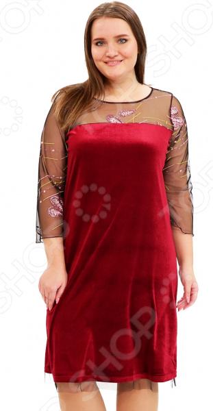 Платье Лауме-Лайн «Обольстительная женщина». Цвет: бордовый лэндон д обольстительная самозванка роман