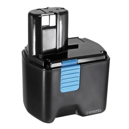 Батарея аккумуляторная для инструмента Pitatel TSB-101-HIT18A-33M для Hitachi EB 1812S/EB 1814SL/EB 1820/EB 1820L/EB 1824L/EB 18B, Ni-Mh, 18V, 3.3Ah