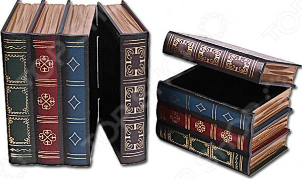 Подставка для книг с емкостью для хранения Patricia IM99-2617 шкатулки patricia шкатулка для медикаментов 16 13 7 26см