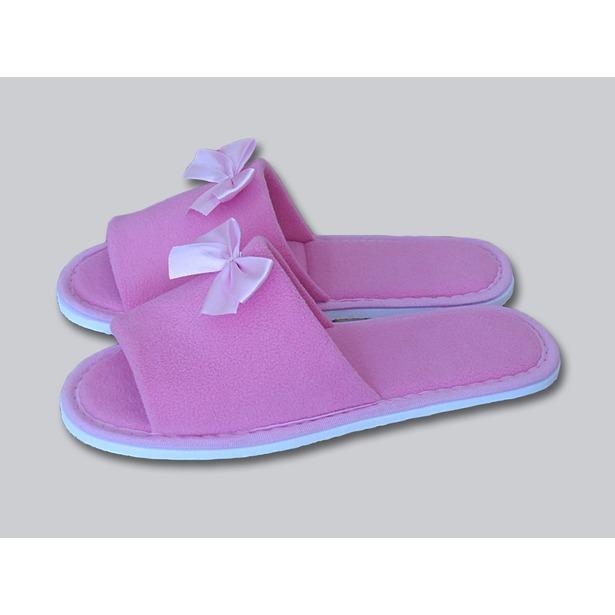 фото Тапочки с открытым носком Dream Time SL-158. Цвет: розовый. Размер: 38-39