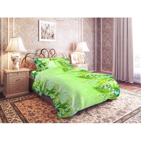 Купить Комплект постельного белья «Душистый ландыш». 1,5-спальный