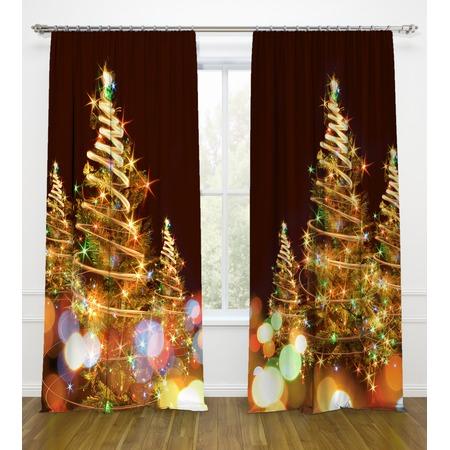 Купить Фотошторы Стильный дом «Яркие огни»