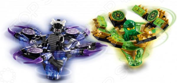 Конструктор игровой LEGO 70664 Ninjago «Ллойд мастер Кружитцу против Гармадона» конструктор lepin ninjago акула гармадона 929 дет 06067