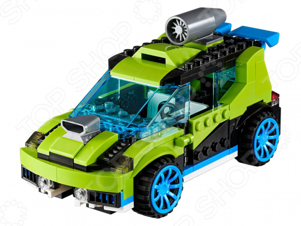 Конструктор-игрушка LEGO Creator «Суперскоростной раллийный автомобиль»