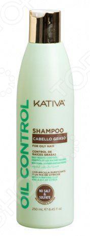 Шампунь для жирных волос Kativa «Контроль»