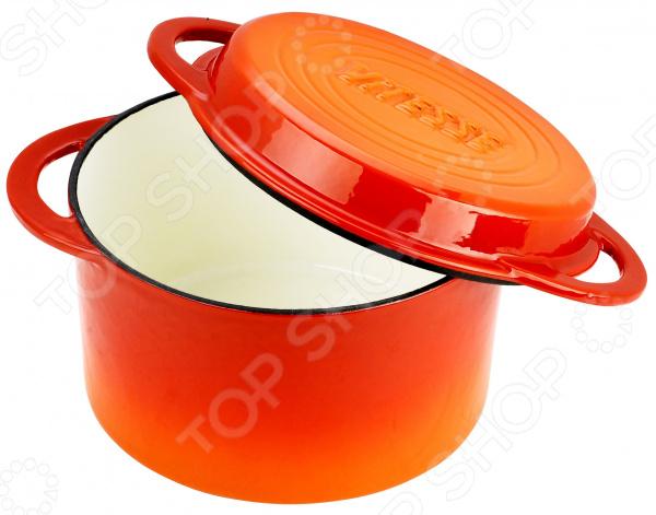 Кастрюля с крышкой-сковородой Vitesse Ferro комплект трусов dim 4d96 blanc