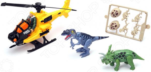 Набор игровой Chap Mei «Охотник за динозаврами: вертолет»