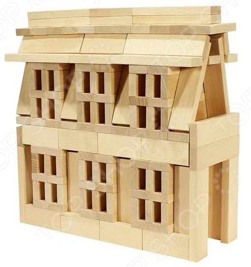 Конструктор деревянный Теремок И683
