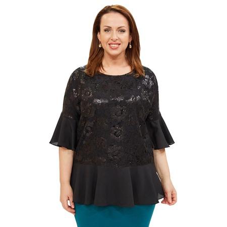 Купить Блуза Wisell «Новогоднее настроение»
