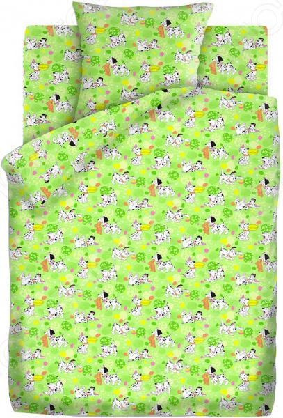 Ясельный комплект постельного белья Непоседа «Далматинцы» Непоседа - артикул: 1320990