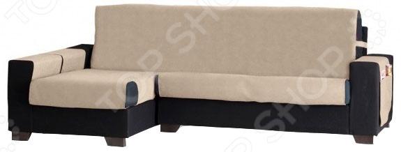 Накидка на угловой диван левосторонняя непромокаемая Медежда «Иден»
