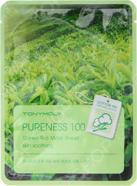 Маска тканевая для лица TONY MOLY Pureness «Зеленый чай» Маска тканевая для лица TONY MOLY Pureness «Зеленый чай» /