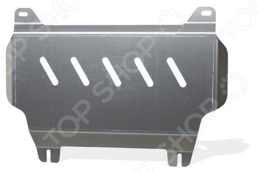 Комплект: защита картера и крепеж NLZ 4 мм для Toyota Land Cruiser 200 / Lexus LX, 2015