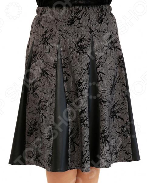 Юбка Лауме-Лайн «Волшебная улыбка». Цвет: серый юбка лауме лайн волшебная улыбка цвет коричневый