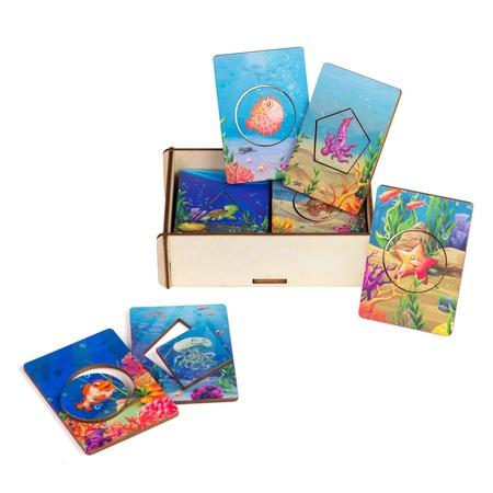 Купить Досочки сегена PAREMO «Морские обитатели»