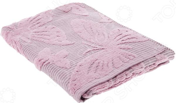 Полотенце махровое Guten Morgen «Баттерфляй». Цвет: розовый
