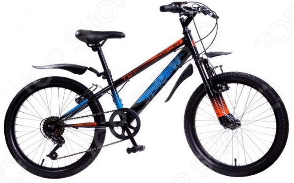 Велосипед горный подростковый Top Gear Fighter V-brake