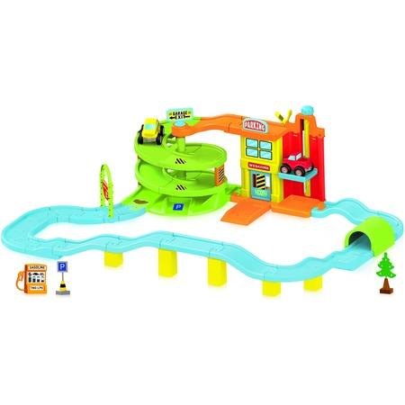 Купить Набор игровой для гонок Dolu «Большой гараж»