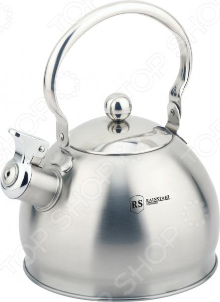 Чайник со свистком Rainstahl RS/WK 7614-20 чайник эмалированный rainstahl rs 7541 22