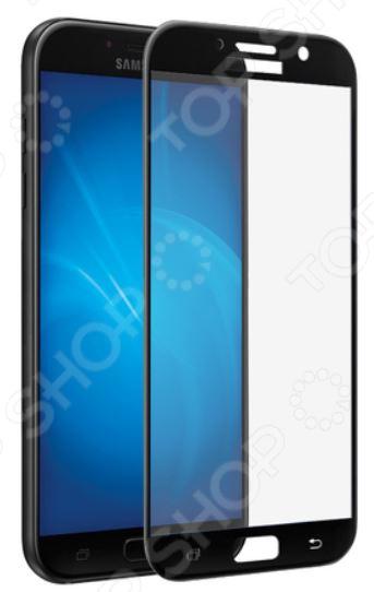Стекло защитное 3D Media Gadget для Samsung Galaxy A7 2017 media gadget для samsung galaxy ace 4 глянцевая