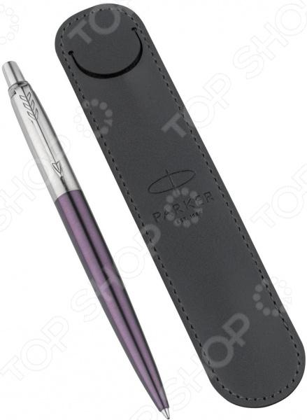 Набор подарочный: ручка шариковая и чехол Parker Jotter Core Victoria Violet CT