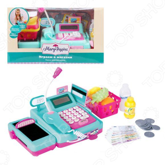 Кассовый аппарат игрушечный Mary Poppins «Играем в магазин»