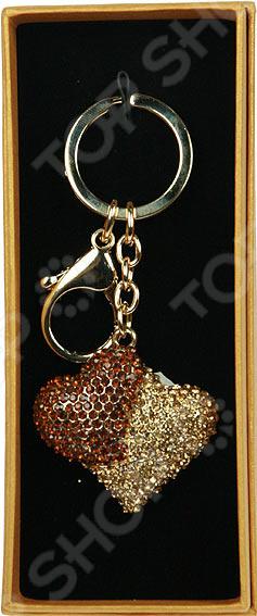 Брелок-аксессуар для сумки и ключей «Сердце» 64190