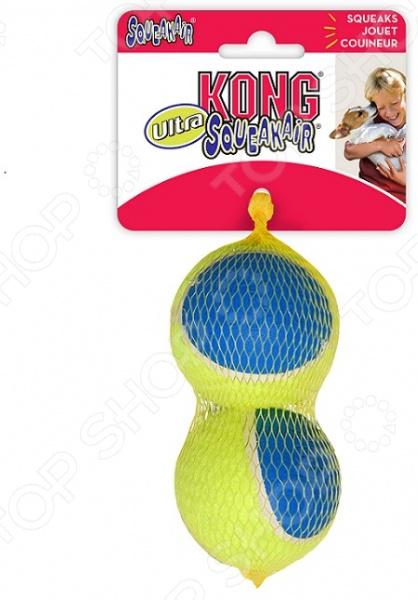 Игрушка для собак Kong Ultra Squeak «Мячик». Количество предметов: 2 AUT1E