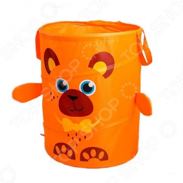 Корзина для игрушек Школа талантов «Медвежонок»