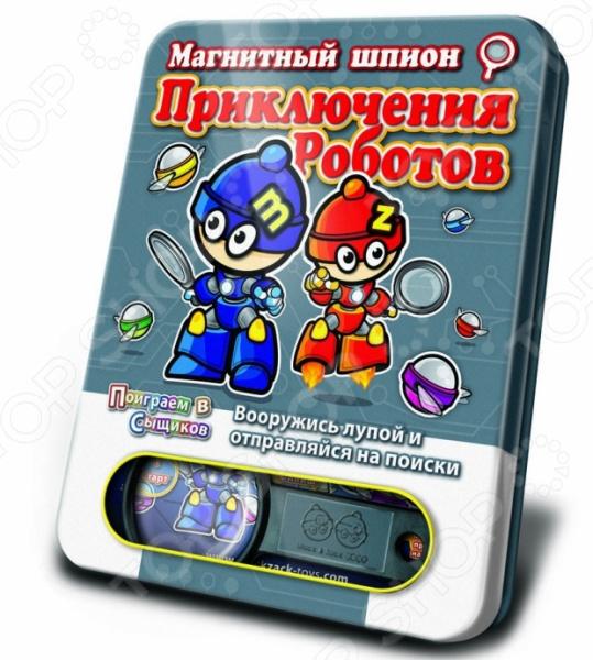 Игра магнитная Mack&Zack «Приключения Роботов»