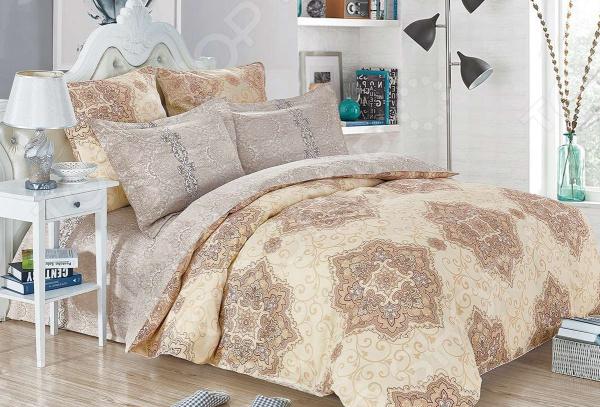 Комплект постельного белья Cleo 458-SK комплект постельного белья двуспальный cleo sk 2 441