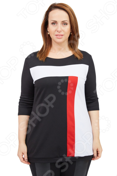 Туника Матекс «Активная дама». Цвет: красный  туника матекс калерия цвет красный