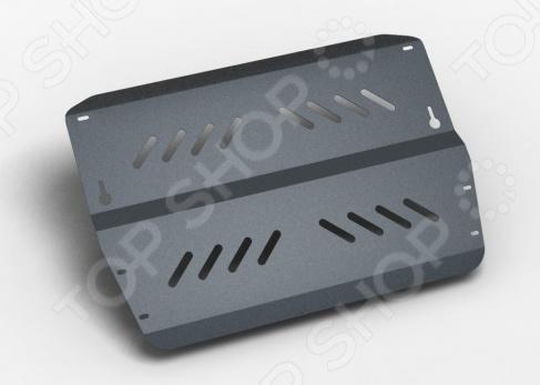 Комплект: защита картера и крепеж NLZ Peugeot 407/2004: 1,8/2,0/3,0/2,2d МКПП/АКПП