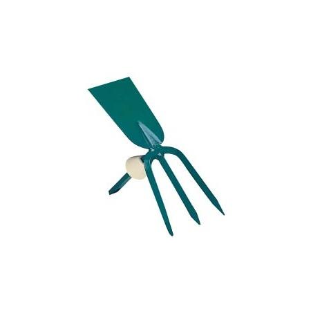 Купить Мотыжка садовая с прямым лезвием Raco