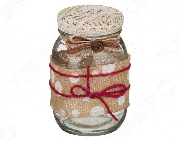 Банка для сыпучих продуктов «Бантик» банка для сыпучих продуктов melba банка для сыпучих продуктов