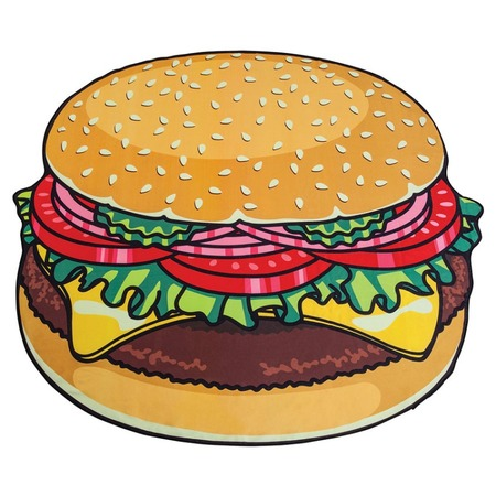 Купить Покрывало-парео пляжное Beach Towel «Гамбургер»