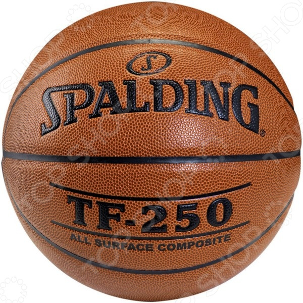 Мяч баскетбольный Spalding TF-250 All Surf spalding spalding 73 303 резиновый материал no 6 мяч женщина с мячом баскетбол