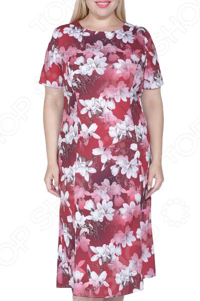 Платье ТРЕНД «Небесный сад»