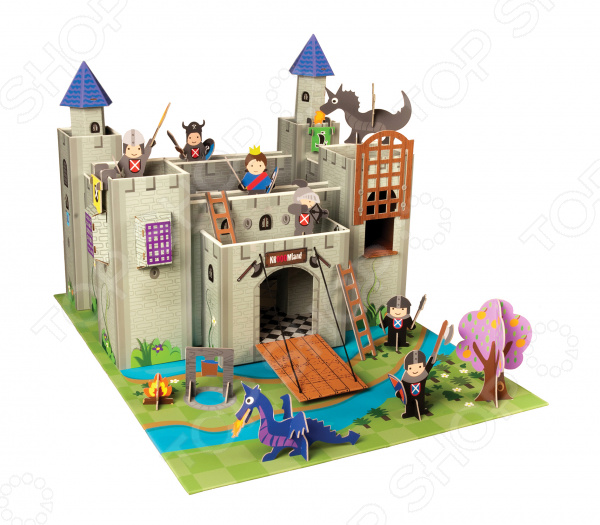 Игровой набор Krooom «Рыцарский замок Артура»